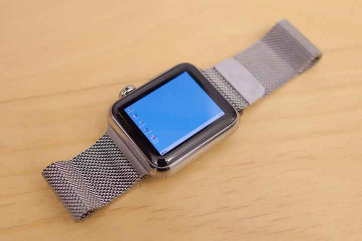 Windows 95 on an Apple Watch is wonderfully impractical — Engadget RSS Feed